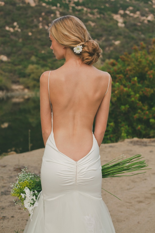 Saturday style backless wedding dresses by katie may aisle perfect
