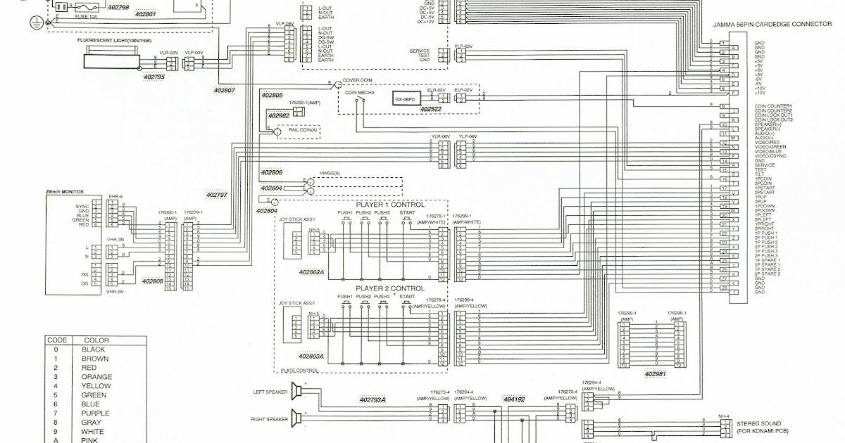 Konami Wire Diagram - Wiring Diagram News •