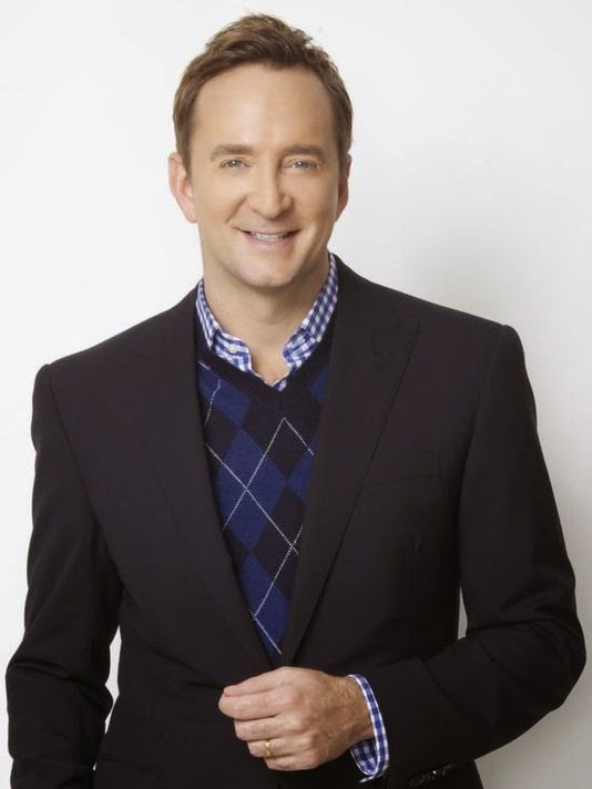 Clinton Kelly at Macy's Fresno- Clinton Inspired Nails- Matte Argyle Half Moons