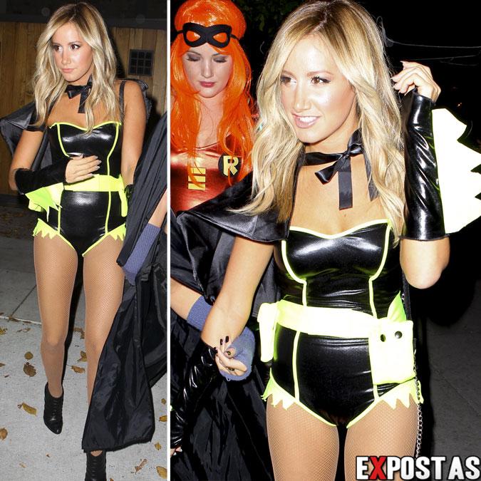 Ashley Tisdale: Halloween party em Los Angeles - 31 de Outubro de 2012