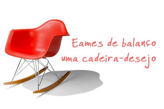 Cadeira de balanço - desconto - Eames DAR - RAR