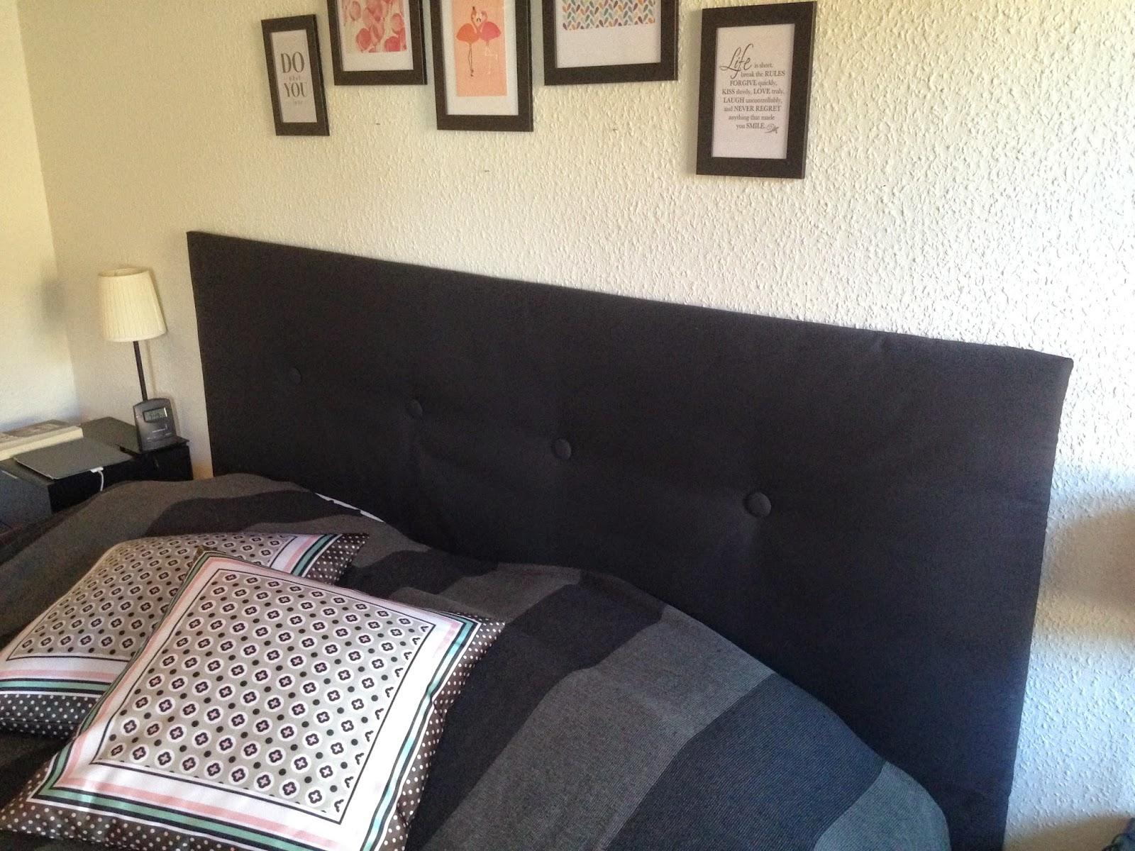 MajaDivine: Ny sengegavl DIY