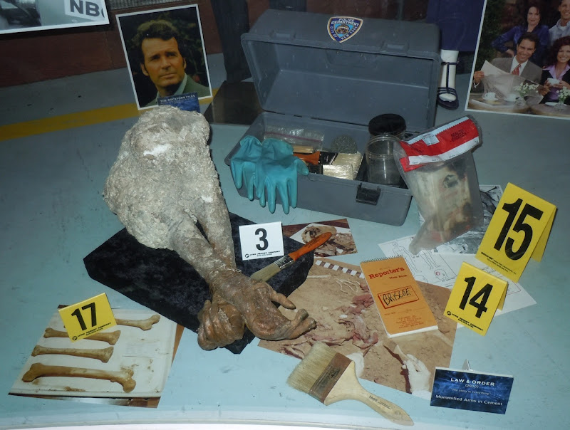 Law & Order forensics TV props