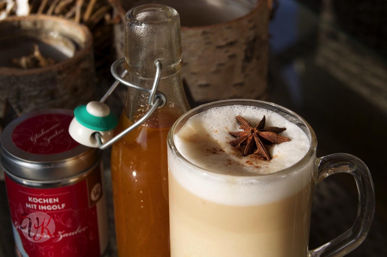 Viera s kitchen pumpkin spice sirup pumpkin spice latte for Kochen temperatur