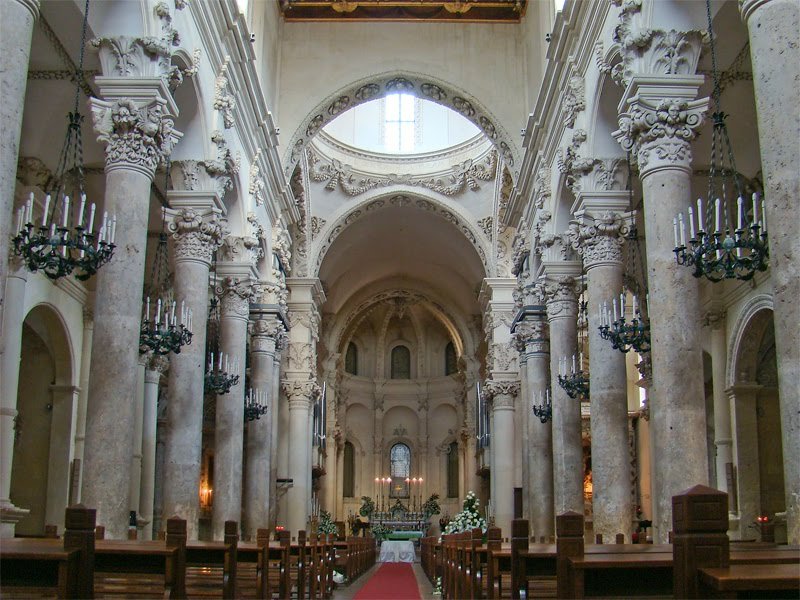 New Liturgical Movement: Basilica di Santa Croce, Lecce, Italy