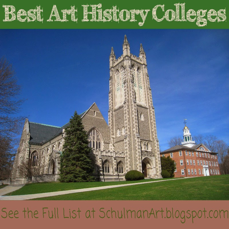 Best Art History colleges | Read more about the top 5 undergraduate art history programs at http://schulmanart.blogspot.com/2011/08/top-5-art-history-undergraduate.html