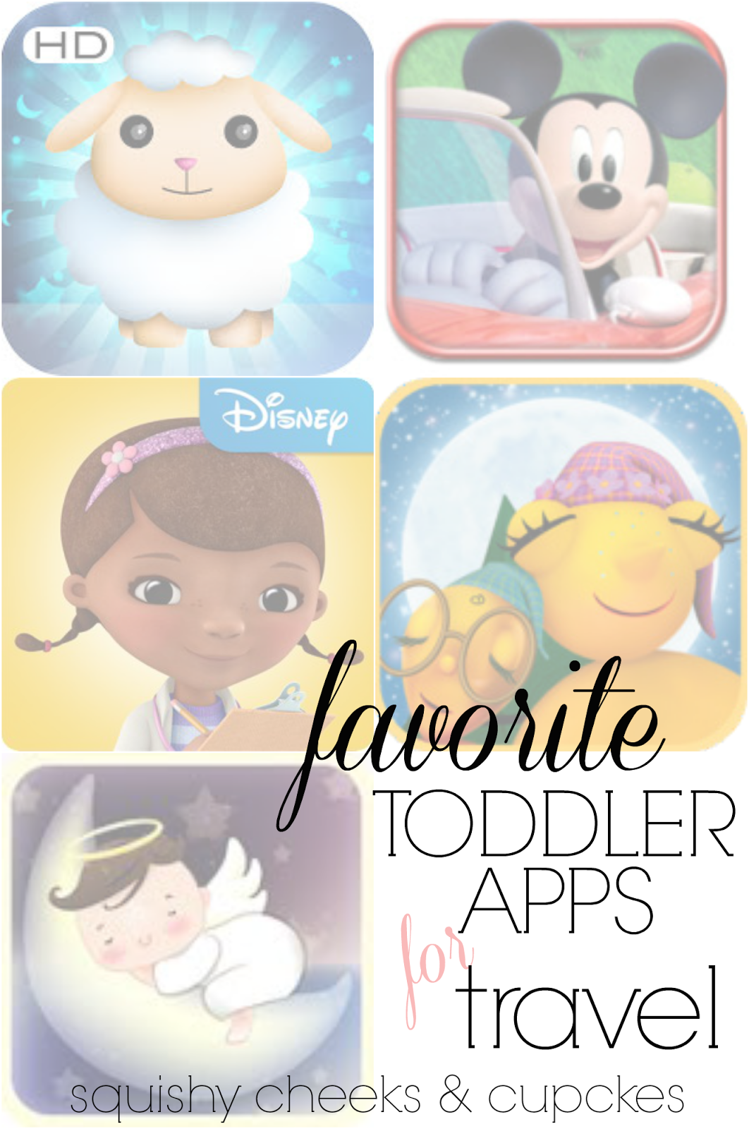Squishy Cheeks & Cupcakes Apps