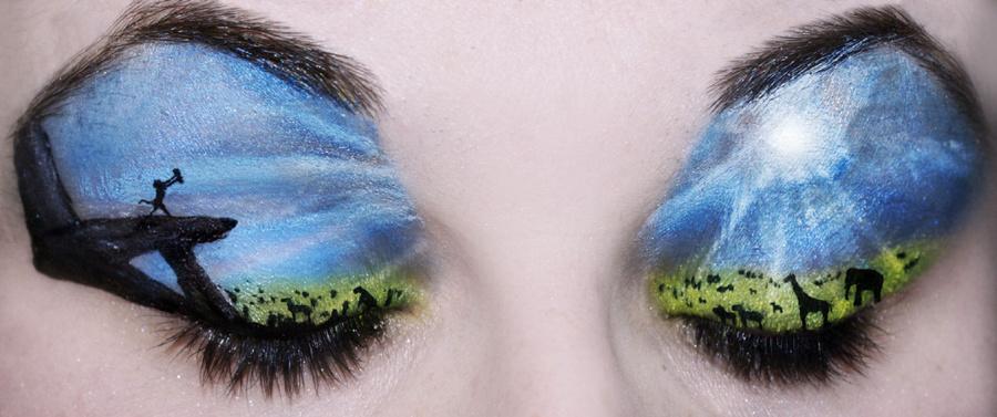 f71854cb4233af2c49d83700aa28 - amazing eyelid art