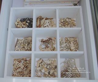 mon coin scrap my new workspace les cartes de carole. Black Bedroom Furniture Sets. Home Design Ideas