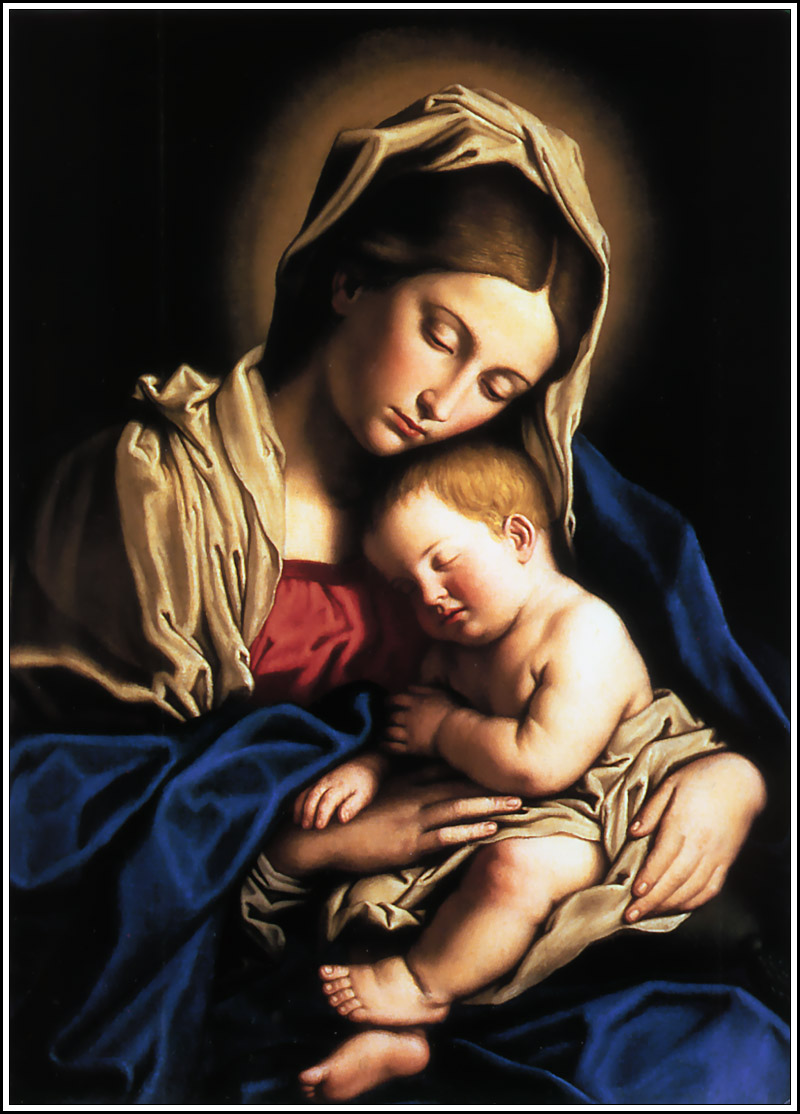 Mary and Child Jesus dans images sacrée Mary_Mother_of_God