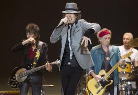 Rolling Stones melanda NY untuk persembahan ulang tahun ke-50