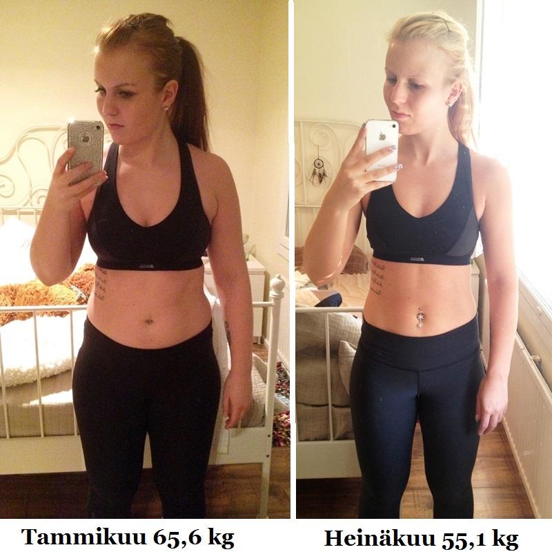 nopein tapa laihtua 10 kg