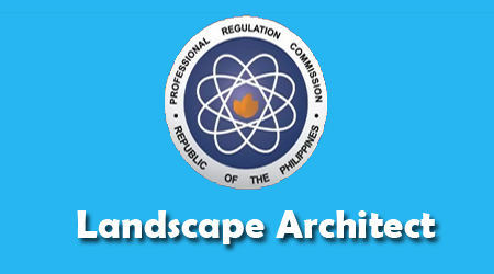 March 2013 Landscape Architect Board Exam Results