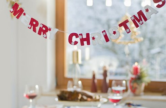 Creative Christmas table decorating picture 7