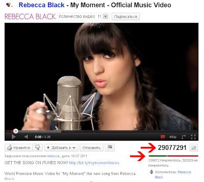 Rebecca Black My Moment