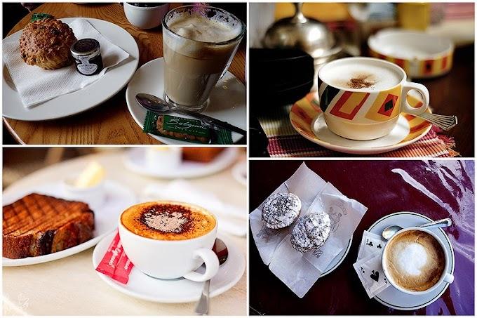 Cafe sáng ở khắp nơi trên thế giới