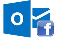 facebook en outlook