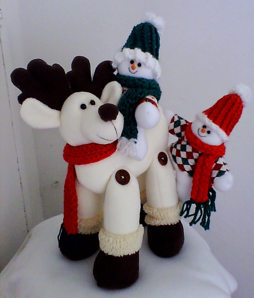 Mu ecos navide os patrones de mu ecos navide os - Manualidades munecos de navidad ...