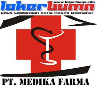 Lowongan Kerja PT. Medika Farma