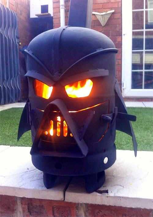 Darth Vader Helmet Stove by Doddieszoomer