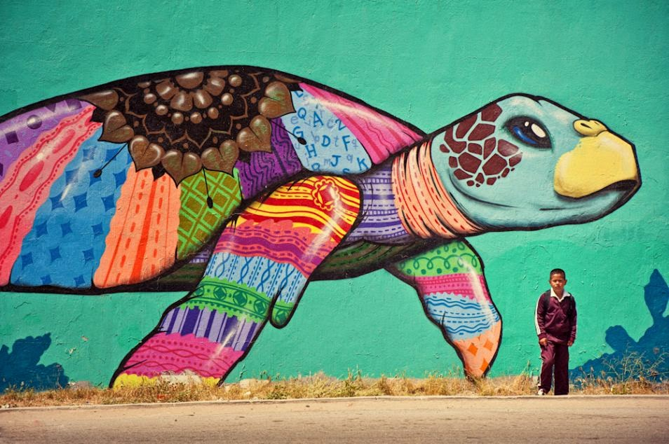 The Best Examples Of Street Art In 2012 And 2013 - Tijuana, Mexico