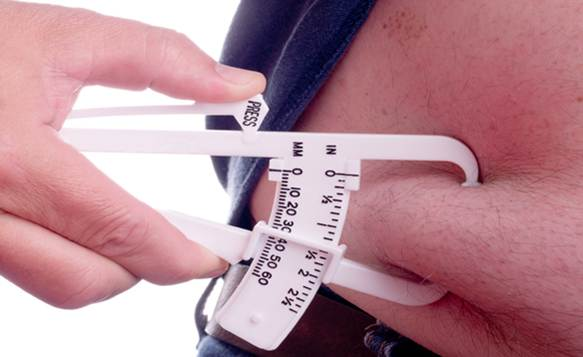 how to find out your body fat percentage without calipers
