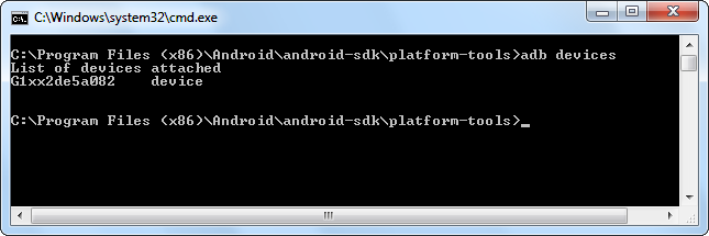 following command to set the default install location to your SD card