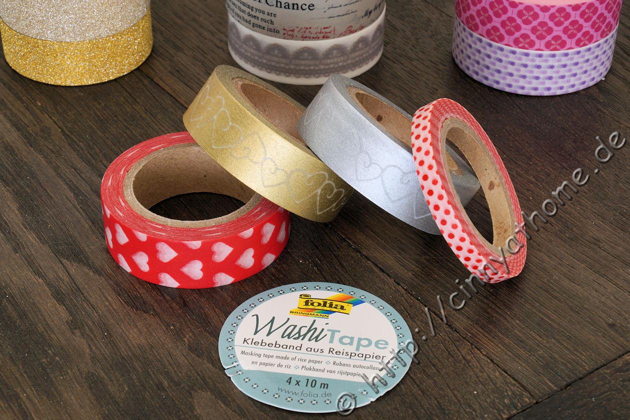 5Rollen Washi Masking Tape Klebeband Klebebänder Papier Deko Sticker Nützlich