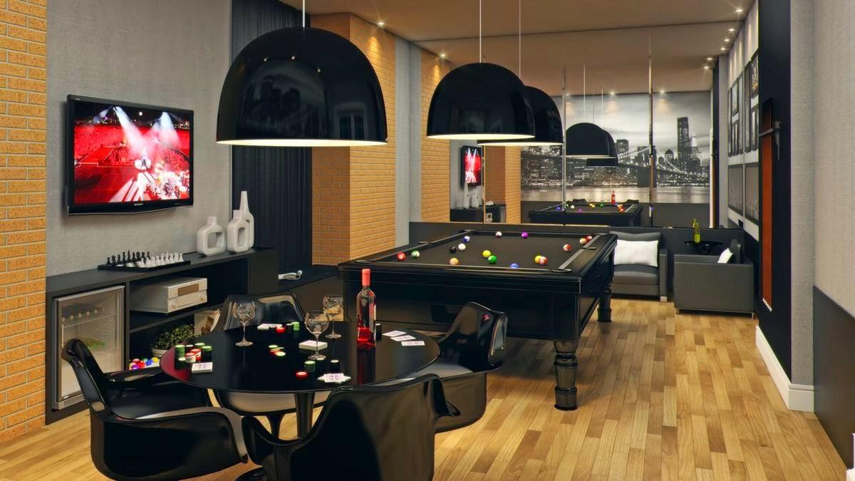 decoracao de sala jogos : decoracao de sala jogos:Sala de Jogos – veja modelos e dicas para montar uma em sua casa
