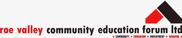 Training at Roe Valley Community Education Forum Ltd