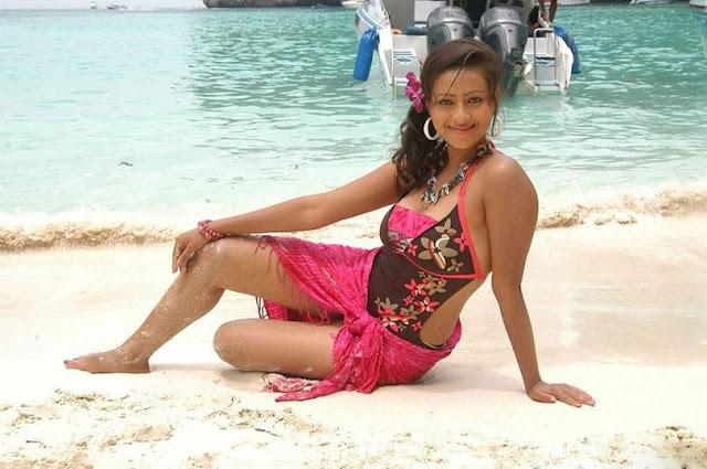 asian madalasa sharma beach bikini hot images