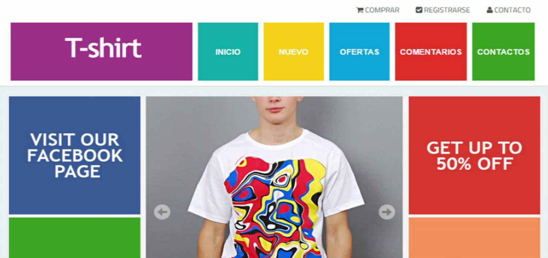 T-shirt Elegant Blogger Template