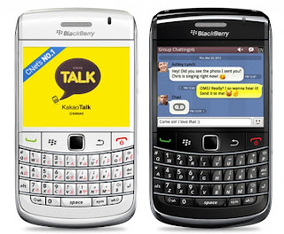 KakaoTalk v2.0 for Blackberry
