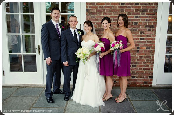 Highlands Country Club Wedding - Garrison, NY - Hudson Valley Wedding - White Bridal Bouquet of Flowers - Dahlia - Sweet Peas - Splendid Stems Floral Design