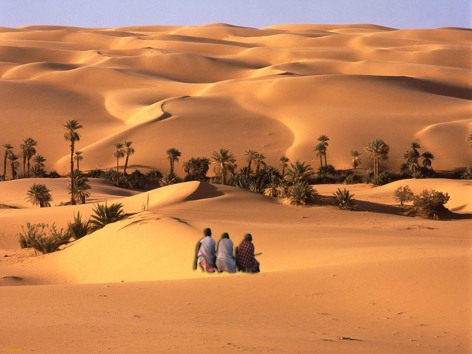 TRES DESEOS Tres-negros-en-el-desierto