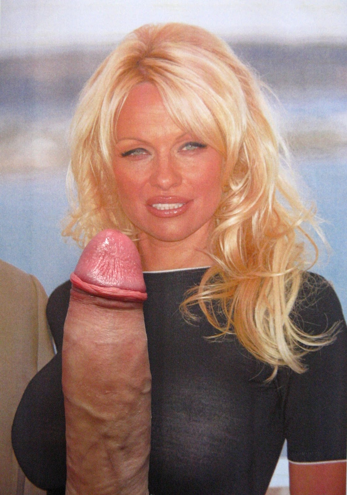 from Morgan pam anderson cum face