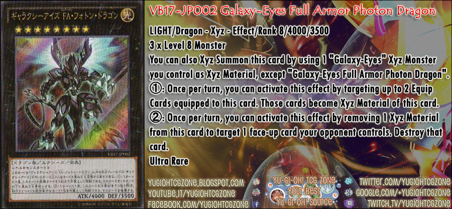 VB17-JP002 Galaxy-Eyes Full Armor Photon Dragon