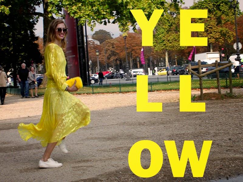 yellow chiara ferragni dress