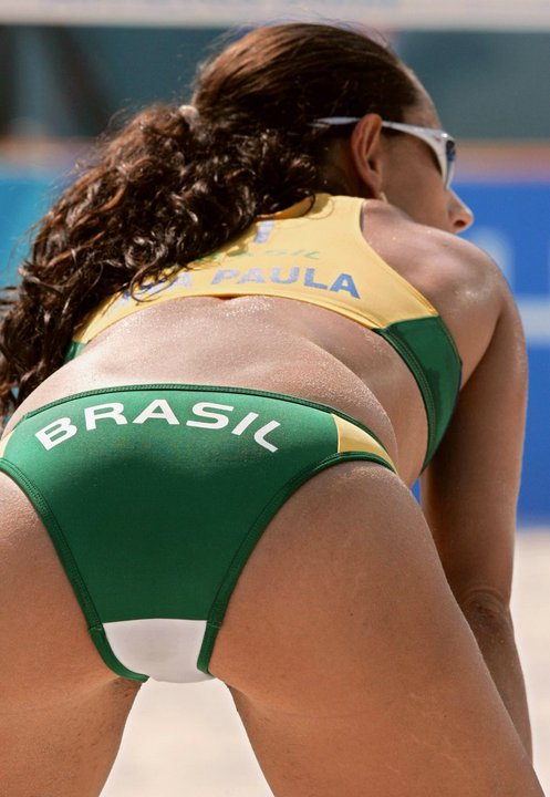 Nice Brazilian Ass In A Bikini