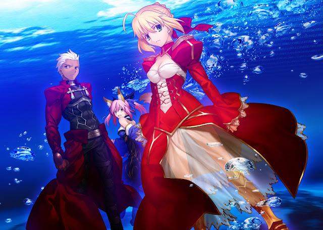 Gra Fate/Extra była by świetnym anime
