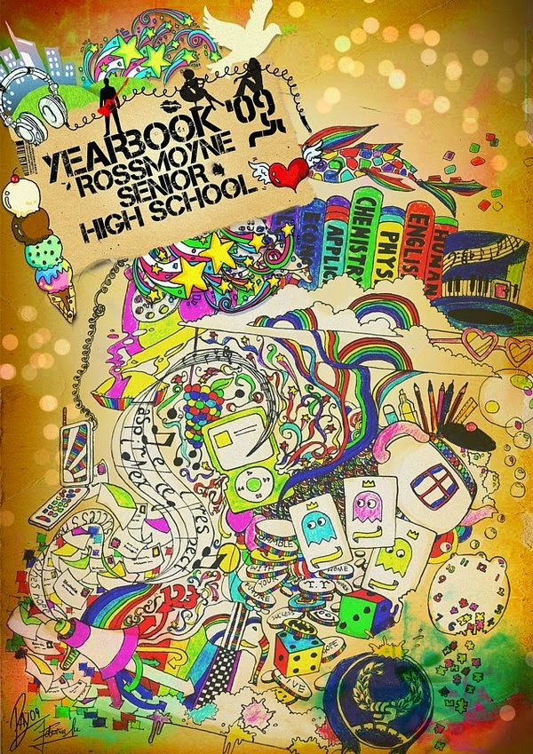 School Yearbook Cover ~ Princess yearbook cover designs