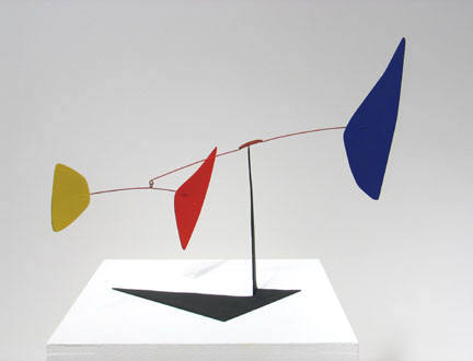 卡尔德 Calder 作品之一