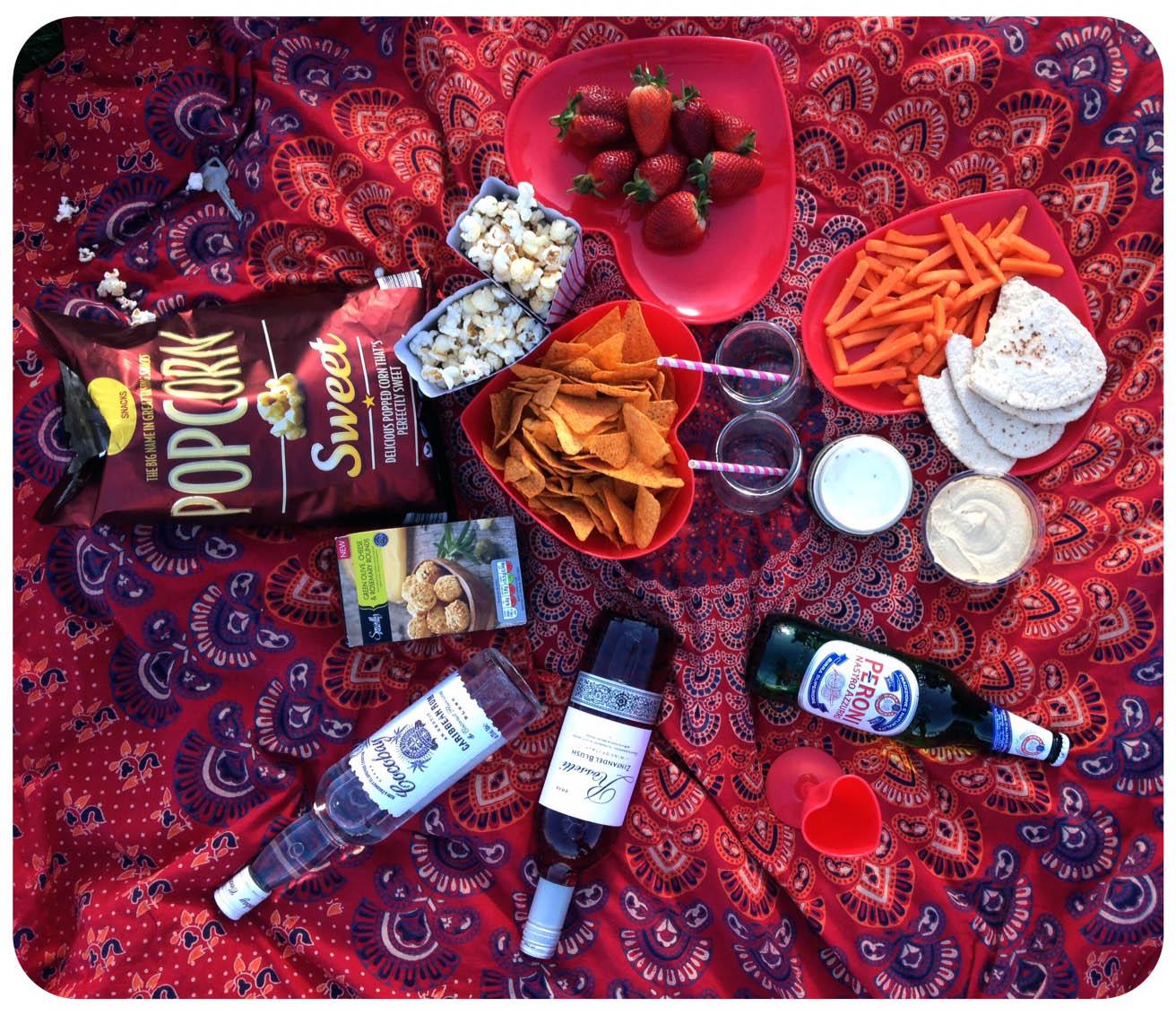 summer picnic daisy kent