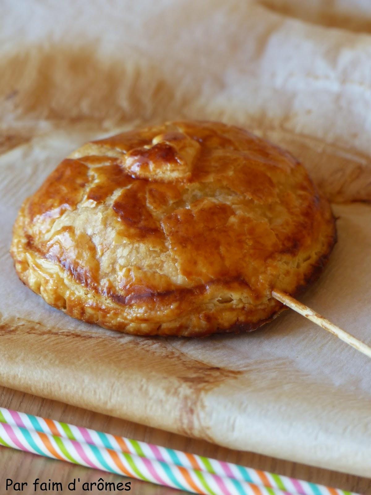 Sucette de galette à la frangipane