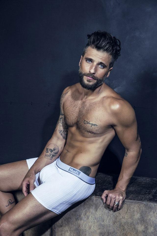 Bruno Gagliasso mantém o corpo sarado com aulas de CrossFit. Foto: André Nicolau