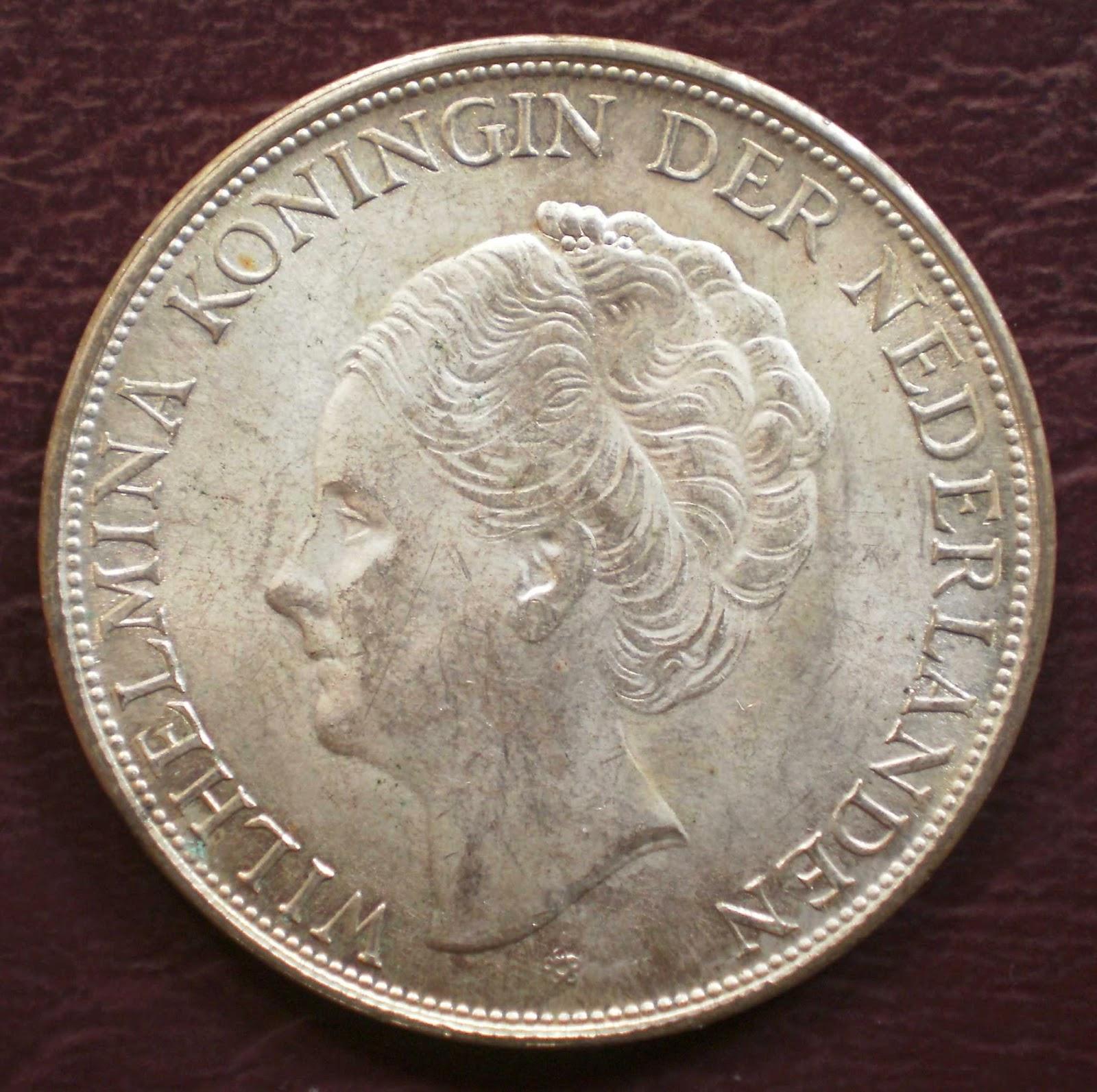 Denver Artinya: KoleksiKu Barang Jadul: Uang Koin 2,5G WILHELMINA 1943D