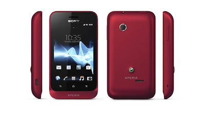 sony xperia tipo android phone