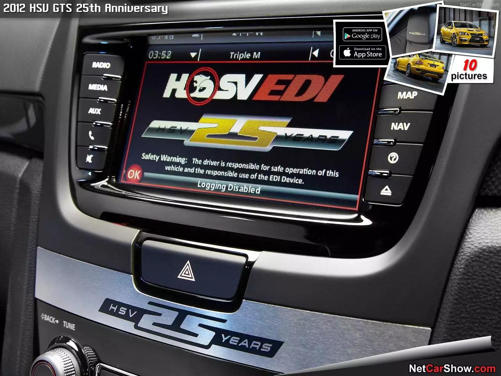 Hình ảnh xe ô tô HSV GTS 25th Anniversary 2012 & nội ngoại thất