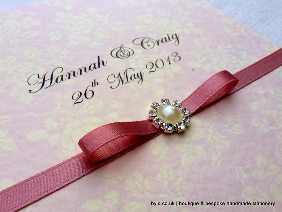 byjo.co.uk handmade wedding invitations stationery | Cardiff ...