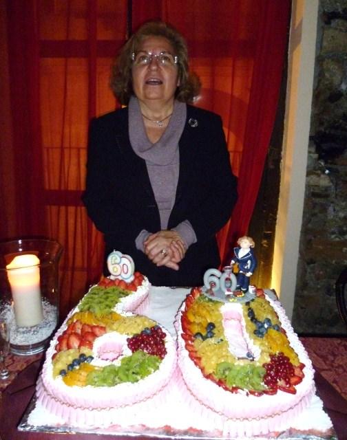 Ben noto Sopra La Torta: I 60 anni di Mariella! JW28